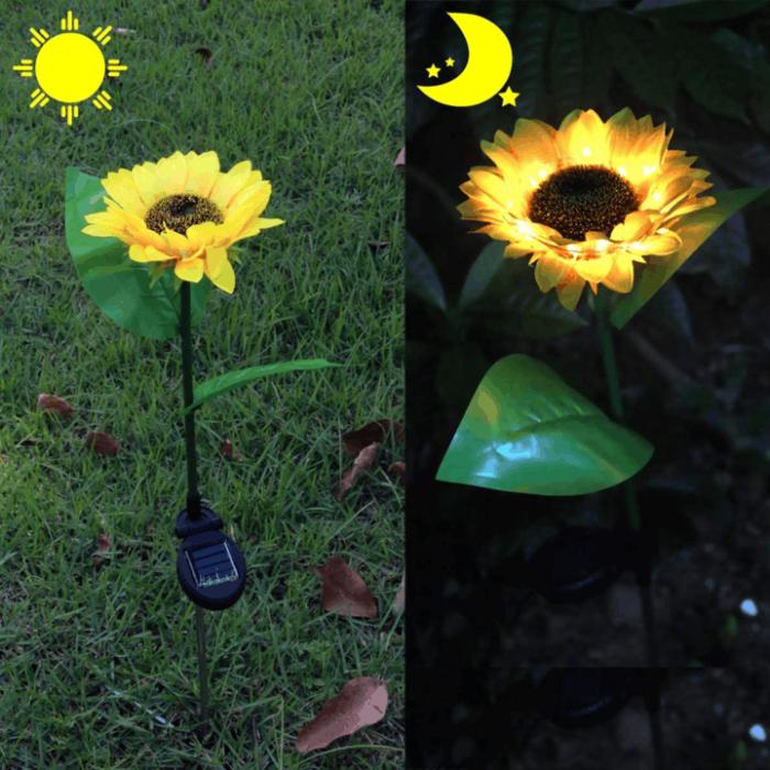 Sunflower Solar Light