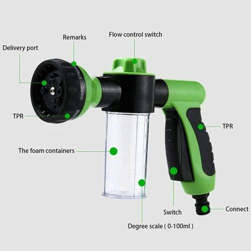 Sellwarm Pressure Hose Nozzle Foam Gun