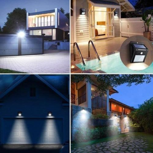 Solar Motion Sensor Wall Light