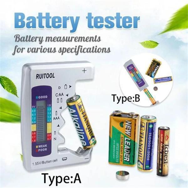 Battery Tester Checker