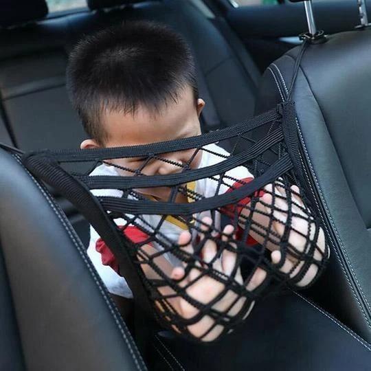 Elastic Mesh Net trunk Bag