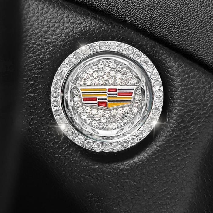 Car One-Key Start Decorative Ring