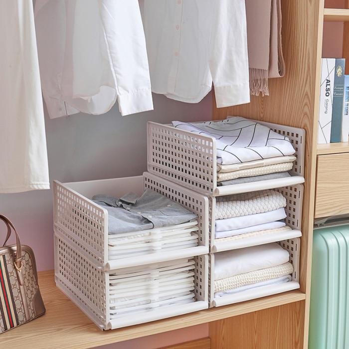 Wardrobe oversized storage basket