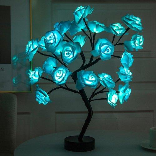 LED Light Rose Tree