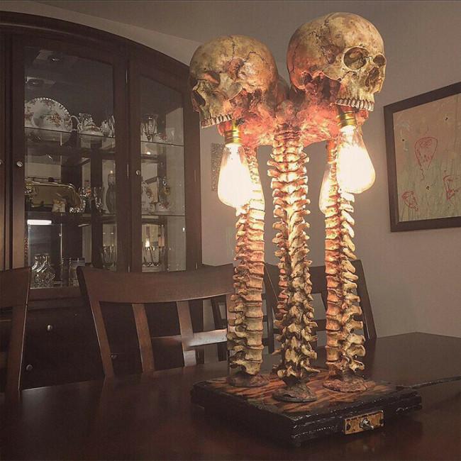 💀Skeleton Lamp —— The Carnival of Skeletons