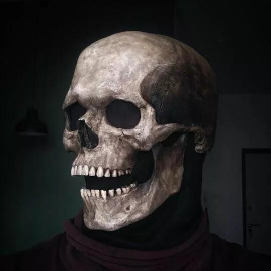 Full head skull mask