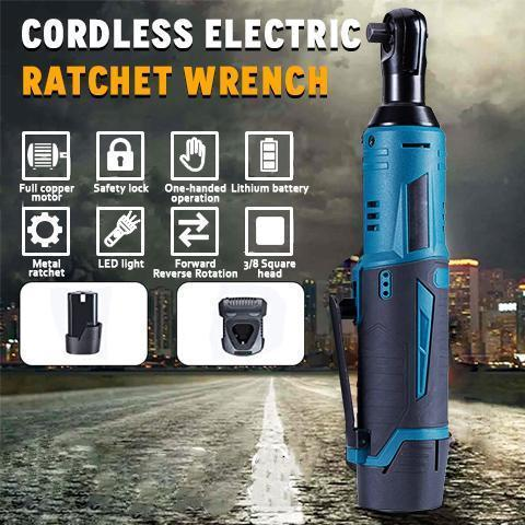 Complete Set 12V Cordless Electric Ratchet Wrench