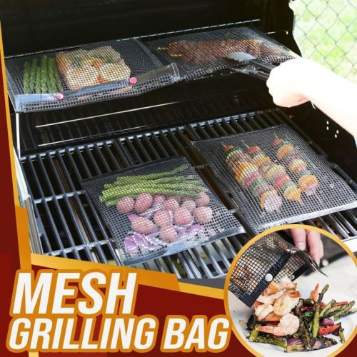 Non-stick BPA Free Heat Resistant BBQ Mesh Grilling Bags