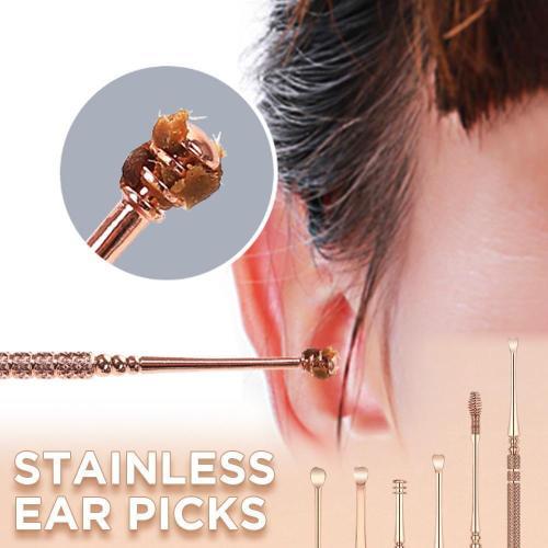 Ear Wax Cleaner Tool(6pcs set)