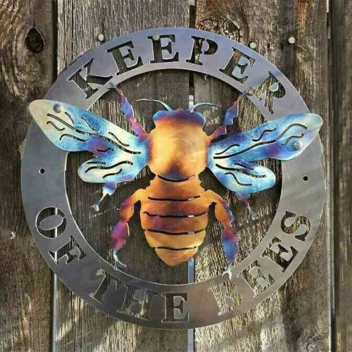 🐝Keeper of the Bees Metal Art
