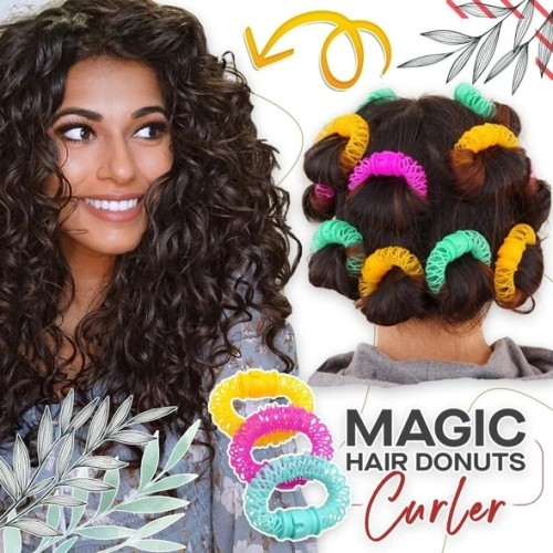 Magic Hair Donuts Curler