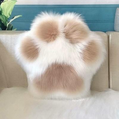 Cute Cat Paw Pillow Cushion