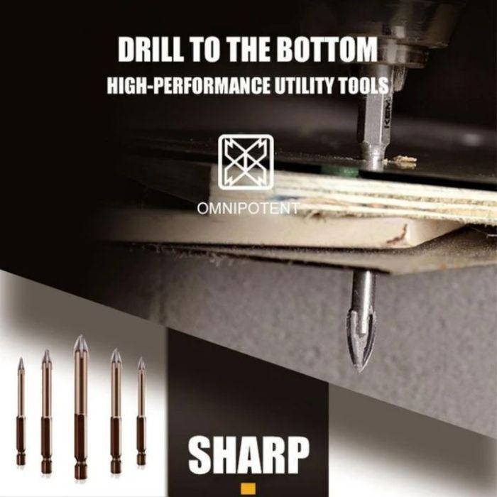 Efficient Universal Drilling Tool(5PCS)