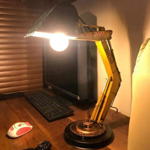Digger Desk Lamp Unique Table Lamp LED