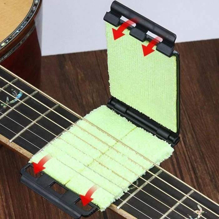 Guitar Strings Scrubber