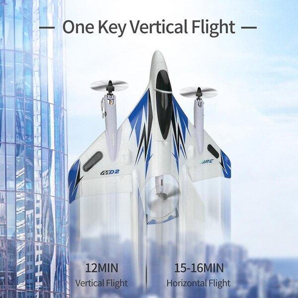 Vertical take off landing dual Brushless stunt RC Plane RTF