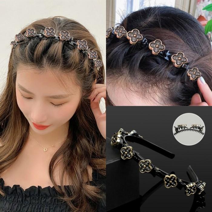 Rhinestone Hairpin Headband