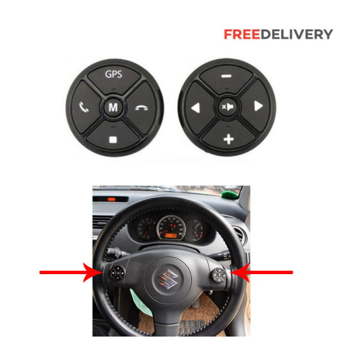 UNIVERSAL CAR STEERING BUTTON