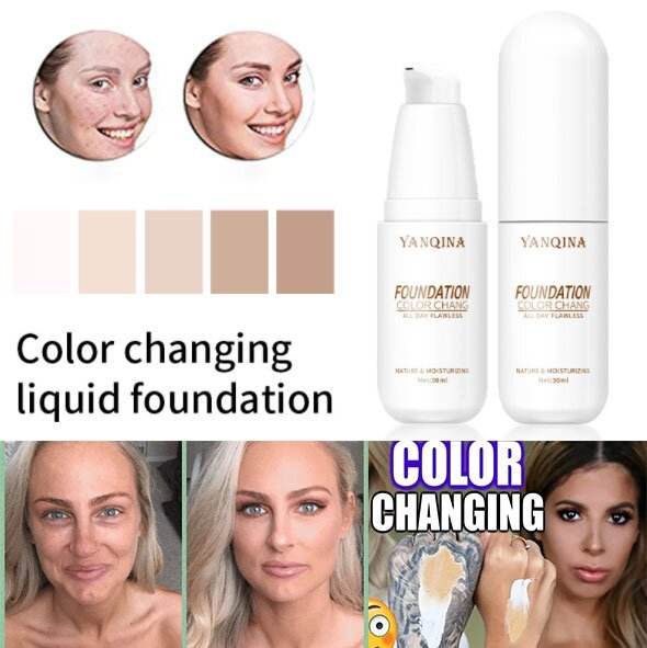 🎉Buy 2 get 1 free🎁 - 2021 For Best Color Changing Foundation