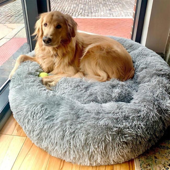 Comfy Calming Pet Bed