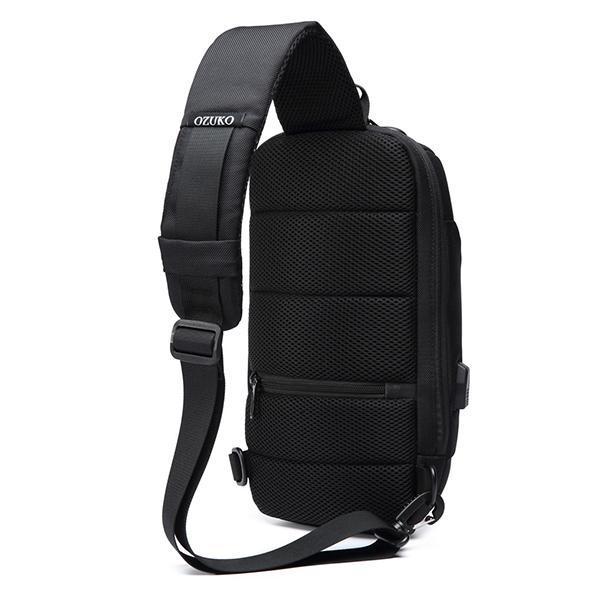 Anti-theft Waterproof Solid Crossbody Bag