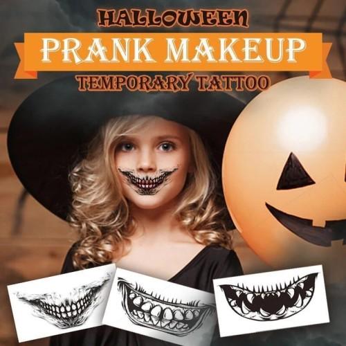 Halloween Prank Makeup Temporary Tattoo
