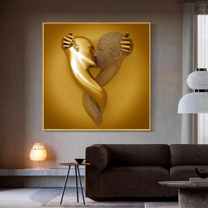 Love Heart Gray-3D Art Wall Decor