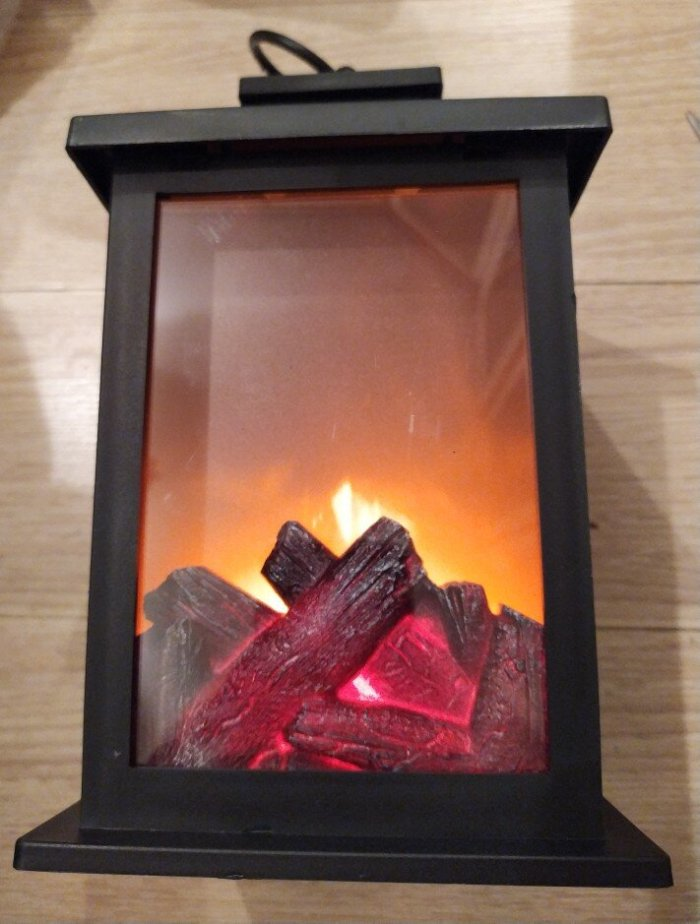 COSY FLAME LAMP
