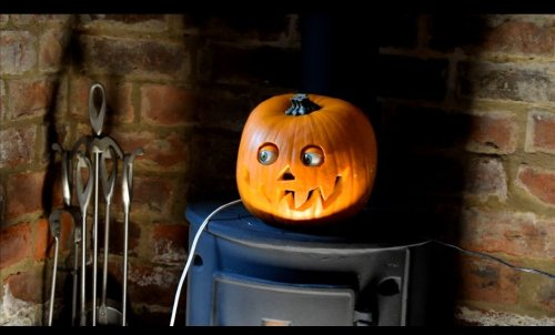 Creepy Halloween Eyes🎃 Scary Halloween Pumpkin