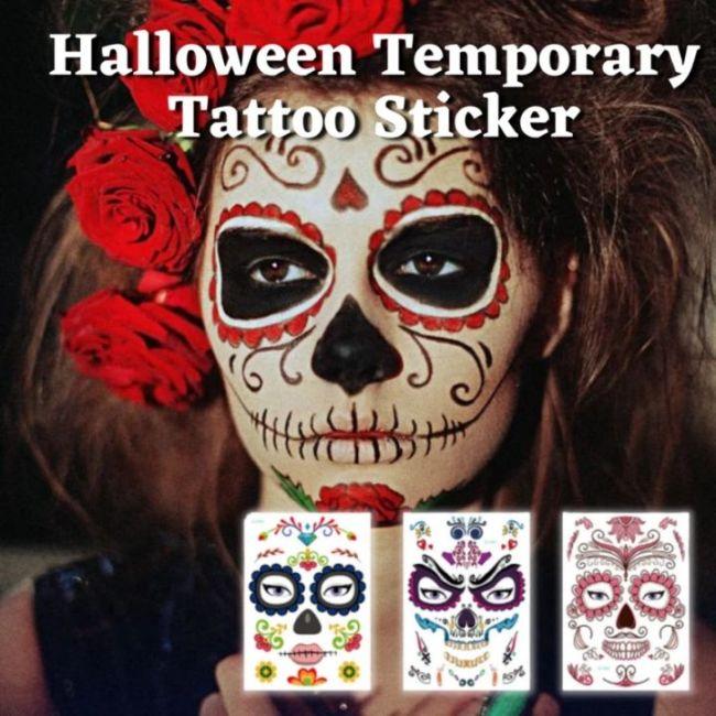 Halloween Temporary Tattoo Sticker