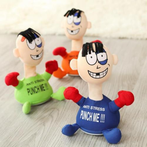FUNNY PUNCH ME SCREAMING DOLL