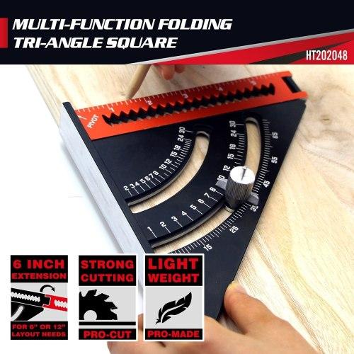 Aluminum Alloy Folding Triangle Ruler