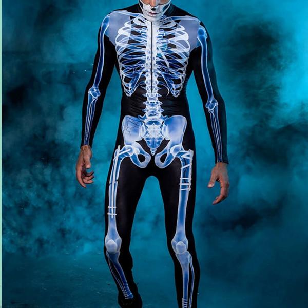 Men's Halloween X-Ray Costume