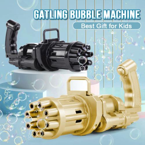 Gatling Bubble Machine