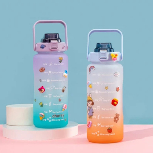 Giant Gradient Water Bottle