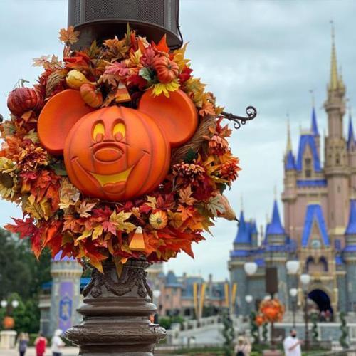 Pumpkin Wreath Decor