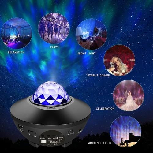 Star Moon Galaxy Projector
