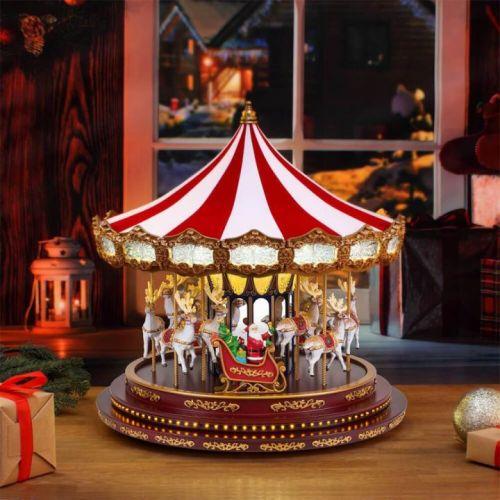 HOVEBEST Musical Santa Carousel🔥2021