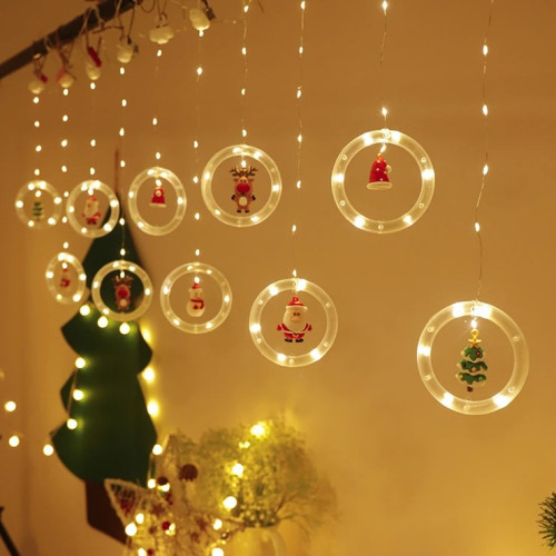 Christmas Curtain String Lights(🎄Early Christmas Sale🎄 - 50% OFF)