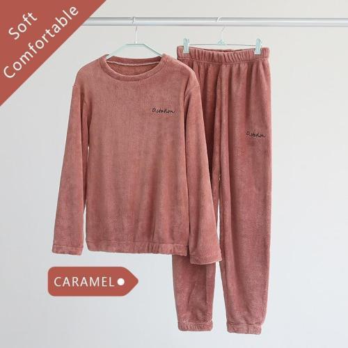 Women's Solid Color Sweatshirt Set