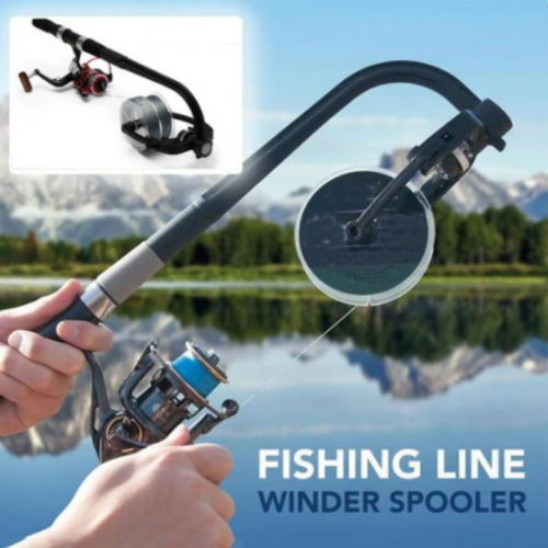 Fishing Line Winder Spooler - 🎁 Christmas Gift for Your Fisher