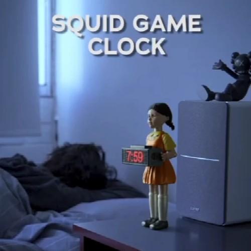 🔥50% OFF Last Day🔥Squid Game Alarm Clock Red Light Green Light Creepy Doll