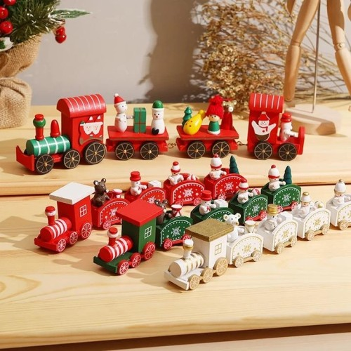 Christmas Wooden Train Ornament 【Christmas Pre-Sale 50% OFF】