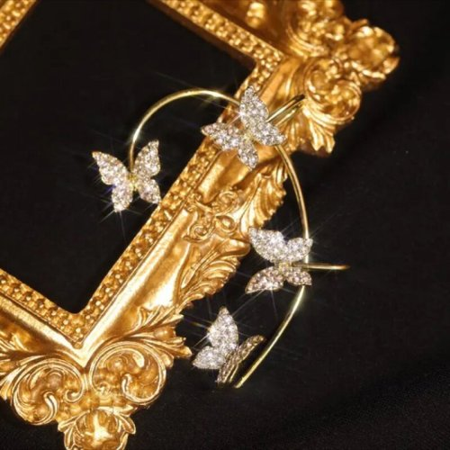 (🎅Early Christmas Sale - Save 50% OFF)Zircon Butterfly Earrings