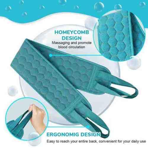 🌲Exfoliating Back Scrubber Set for Shower(3 Pcs/Set)