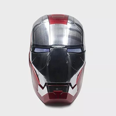 LAST DAY 50% OFF-IRON MAN MK5 HELMET WITH ADVANCED MOTORIZED FACE PLATES