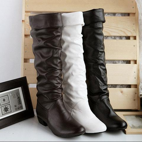 *Women Plus Size Booties Casual Shoes
