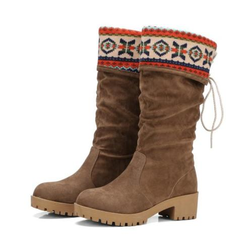*Women's Shoes Customized Materials Winter Comfort Boots