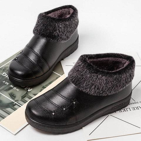 *Women Snow Warm Booties Casual Shoes
