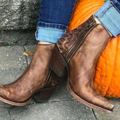 Vintage Casual Winter Boots